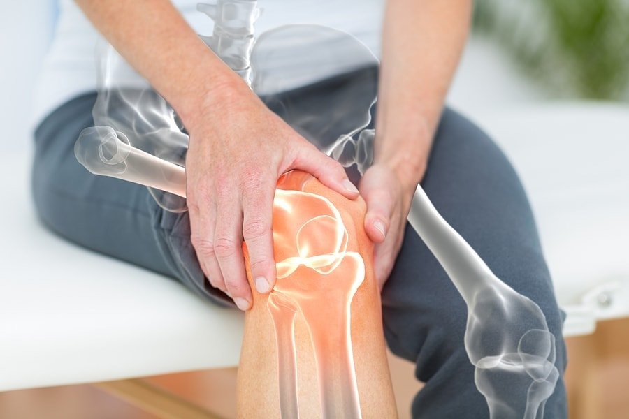 The osteocalcin test can point to bone problems HLA-B27